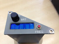 Raf Aircraft Tornado Plessey Remote Frequency Channel Indicator -  - ebay.co.uk