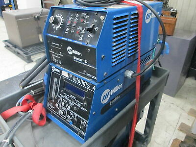 Miller Maxstar 152 120a25 Volts Dc 1-150 Amp Range Tig Welder Wintellitig 4