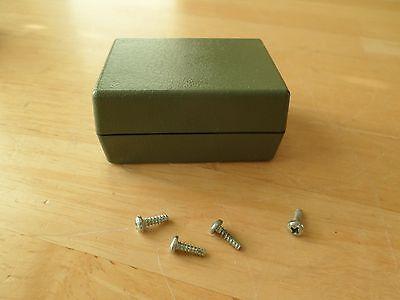 Lot Of 4 Electronic Plastic Project Box Enclosure Unibox 110 2.75 X 2 X 1.38