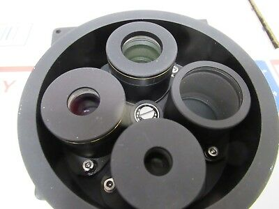 Zeiss Axiotron Germany Magnification Changer Optics Microscope Part 4 Ft-3-18