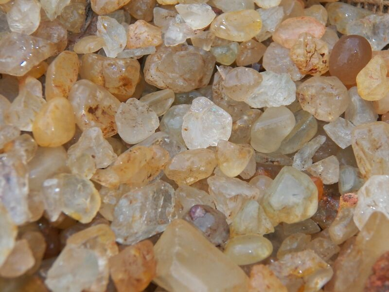 3000 Carat Lots of Unsearched Topaz Rough - Plus a FREE Faceted Gemstone