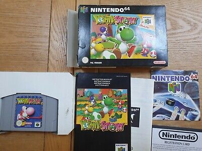 Nintendo N64 Yoshi's Story PAL Tested and complete in box