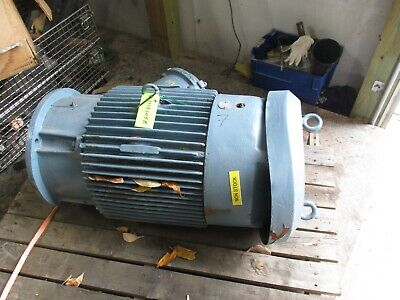 Reliance Electric Motor Frame 326 Tpz Type P 50hp 1118145b Used