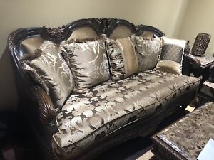 Sofa set for sale ONLY 1 month old MOVING!!!