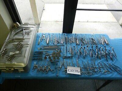 Aesculap Storz V. Mueller Surgical Ent Instrument Set W Case