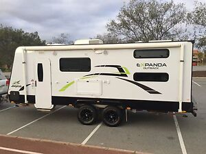 Jayco expanda outback with bunks and independent suspension Mullaloo Joondalup Area Preview