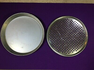 Pizza Baking Pan 2 Piece For Deep Dish And Crispy Crust Capability