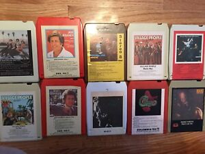 20 cassettes 8 track