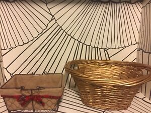 Empty Gift Baskets