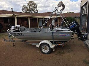2008 Brooker Trecker. tinny Fishing boat. Mercury 25 Kelso Bathurst City Preview