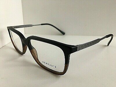 New Versace Mod. 0932 Matte Brown 55mm Men's Eyeglasses Frame Italy #8,9