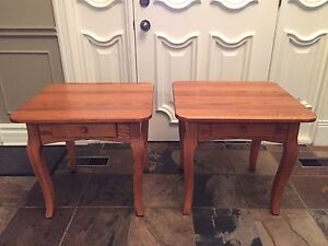 Handmade Mennonite tables in perfect condition
