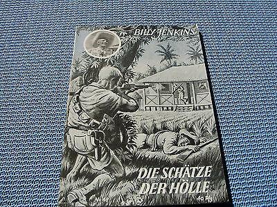 """Orig. Billy Jenkins Heft-Nr 48 von 1951 """"Die Schätze der Hölle"""""""