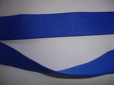 10m Gummiband 0,35€/m blau 22mm breit ED1