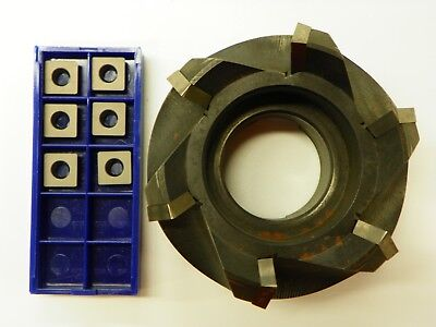 3 45 High Shear Face Mill A7745vse12 Sdew 120412t Carbide Inserts  B852