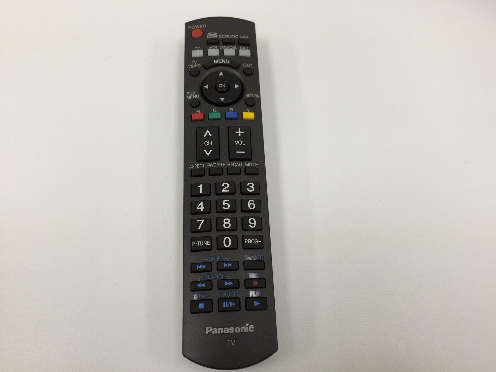 NEW PANASONIC N2QAYB000100 N2QAYB000102 TV REMOTE CONTROL
