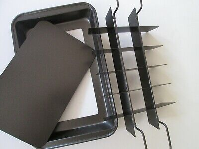 Chicago Metallic Professional Slice Solutions divided Brownie Pan 7