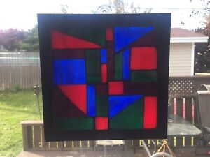 Hand Crafted Stained Glass Mosaic Sun Catcher!