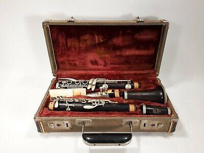 Noblet Paris 7382 Wood Clarinet with the Case Read Description