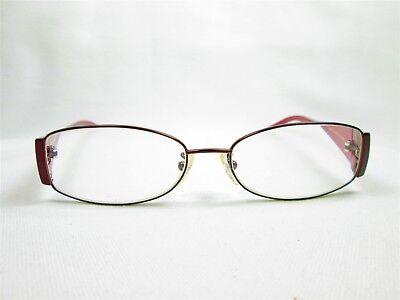 f0a7bde91bfb Fendi F602 Rx Eyeglasses Frames Brown 52[]16-135 Glasses. Fendi F606R 54/16  210 130 Italy Designer Eyeglass Frames Glasses