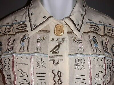 Ladies' Egyptian design Blouse by I.B. Diffusion in size 12