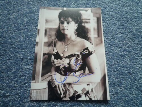 ANNABELLA SCIORRA signed Autogramm 13x18  In Person COP LAND Sylvester Stallone
