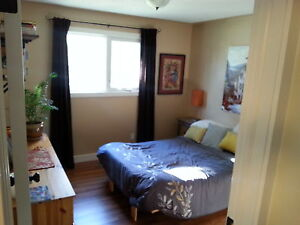 Bedroom for rent in a Clean, Bright, Quiet, Sh. Prk home Strathcona County Edmonton Area image 1