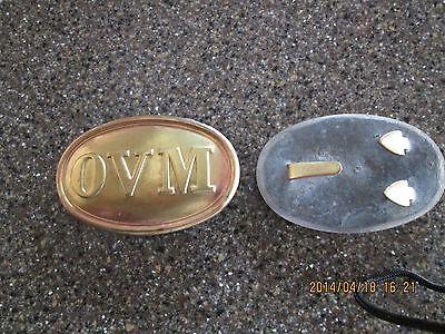 Civil War OVM belt buckle
