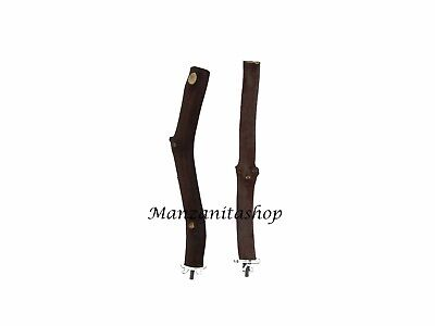 Manzanita Bird Perches  2 pack with hardware  Single Branch   Sweet