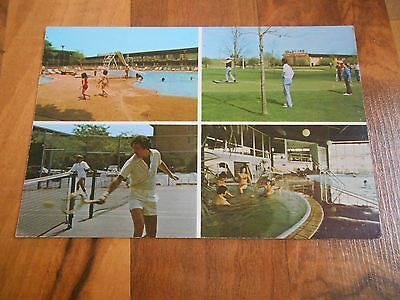 Old Vintage Postcard Ramada The O'Hare Inn (largest) by Airport Des Plaines (Largest Hare)