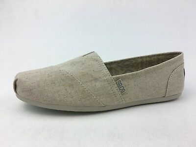 Bobs by Skechers Bobs Plush Best Wishes Slip Ons Women's Size 9, Natural