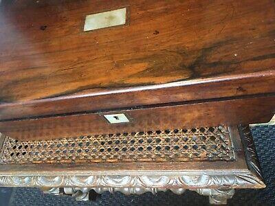 writing slope  antique. Mahogany