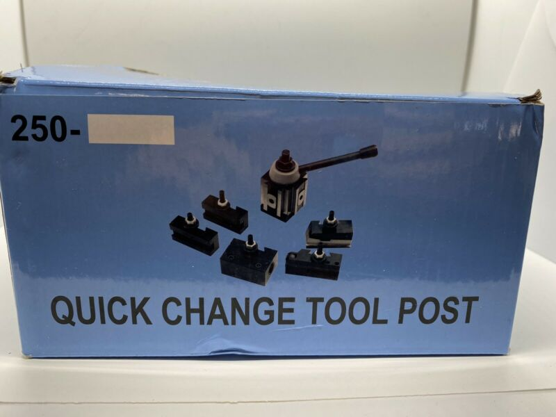 *READ Accusize Industrial Tools oxa 6 Pc Wedge Type Quick Change Tool Post Set
