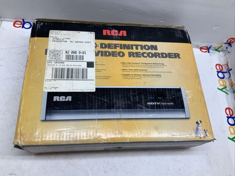 RCA DVR10 High-Definition Digital Video Recorder