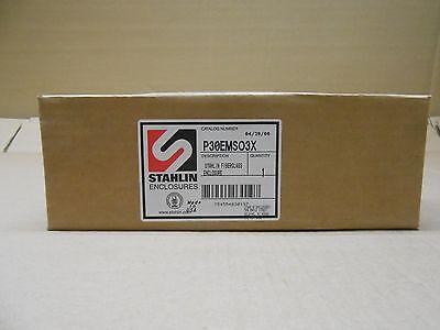 1 Nib Stahlin P30emso3x Fiberglass Enclosure
