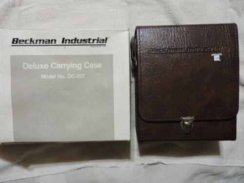Vintage NOS 1981 Beckman Deluxe Carrying Case model DC-207 Digital Multimeters
