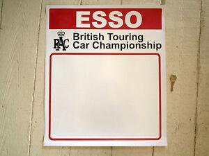 Esso rac inglesi automobile da turismo championship - Su di esso si esce da una porta finestra ...