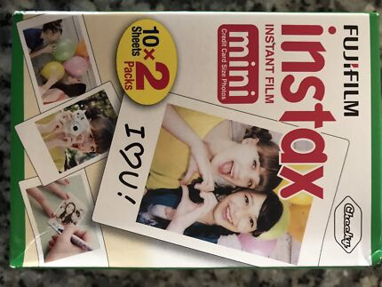 Instax Film 20 sheets Fujifilm Brand New In Box