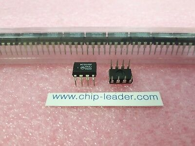 3x Motorola Mc12015p Ic Prescaler Ecl Series 1-func Bipolar Pdip-8