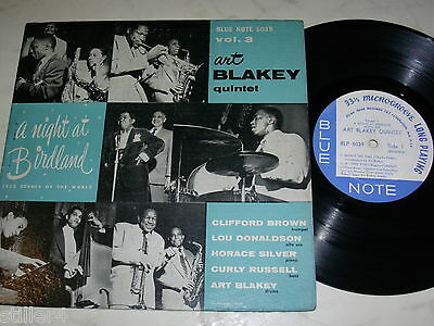"10"" ART BLAKEY QUINTET A Night At Birdland Vol.3 *US BLUE NOTE 5039*"