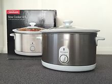 Sunbeam 4.5L slow cooker with glass lid and ceramic insert Chatswood Willoughby Area Preview