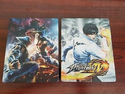 King of Fighters and Tekken Steelbook (Sony Playstation 4) *GAMES NOT INCLUDED*