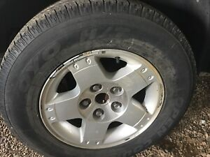 Dodge 5 bolt rims