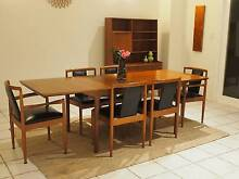 Mid Century Package Deal! Parker & McIntosh Table, chairs, hutch Terrey Hills Warringah Area Preview