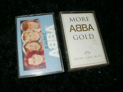 ABBA MORE GOLD & THE VERY BEST OF  CASSETTE TAPE