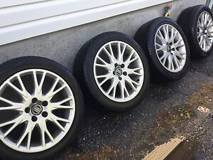 17 inch low profile tires buy or sell used or new car parts tires rims in ontario kijiji. Black Bedroom Furniture Sets. Home Design Ideas