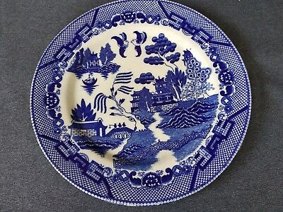 Vintage Blue Willow Fine Quality Japan China 10