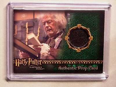 Harry Potter-SS-AUTHENTIC-Movie-Film-Prop Card-Wand Box