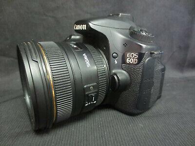 Canon EOS 60D DSLRW & Sigma EX 50mm 1:1.4 DG HSM Lens