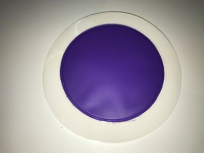 QTY 100 PERMIT / TAX DISC HOLDERS REF PURPLE - GENUINE PRODUCT /